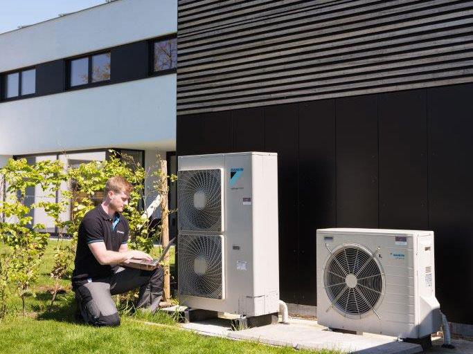 warmtepompen voor aannemers